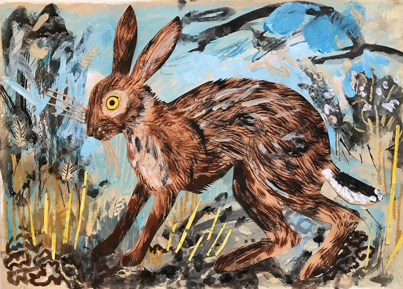 lores Mark hearld HARE